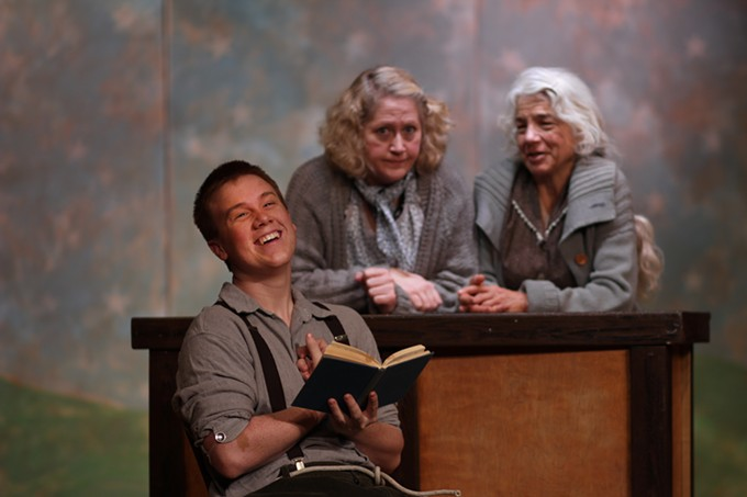 The Cripple of Inishmaan (from left): Gino Cocchi, Rhonda Halquist and Carlisle Ellis