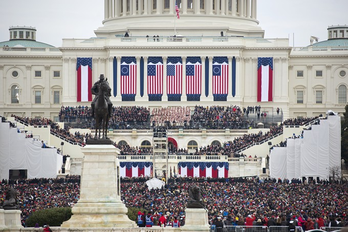 WASHINGTON, DC - JAN.20, 2017: Presidential Inauguration