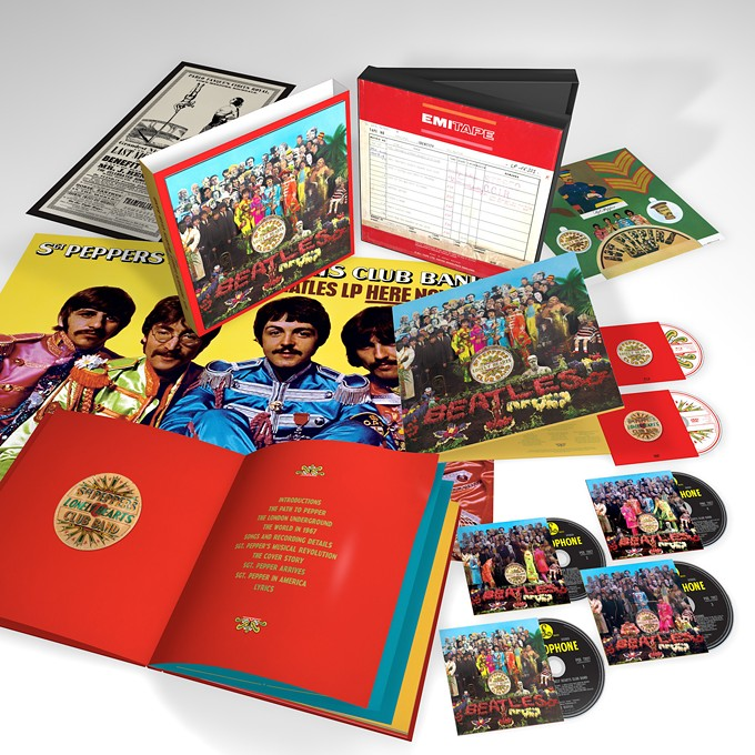"""Sgt. Pepper's 50th Anniversary Deluxe Edition: """"Hear Ringo actually learning how to play chess during the sessions!"""""""