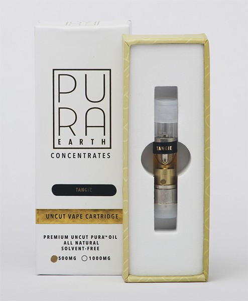 Pura Earth Vape Cartridges - COURTESY
