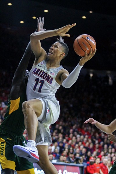 Ira Lee averaged 2.4 points per game as a freshman with the Arizona Wildcats. - LOGAN BURTCH-BUUS