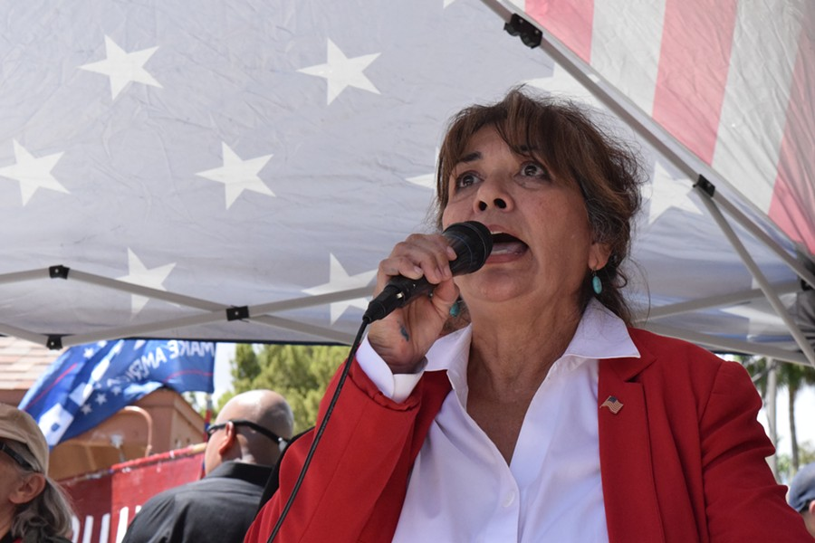 Edna San Miguel, a Republican primary Congressional candidate in District 3