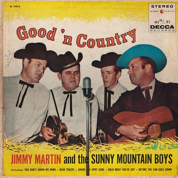 Jimmy Martin - COURTESY