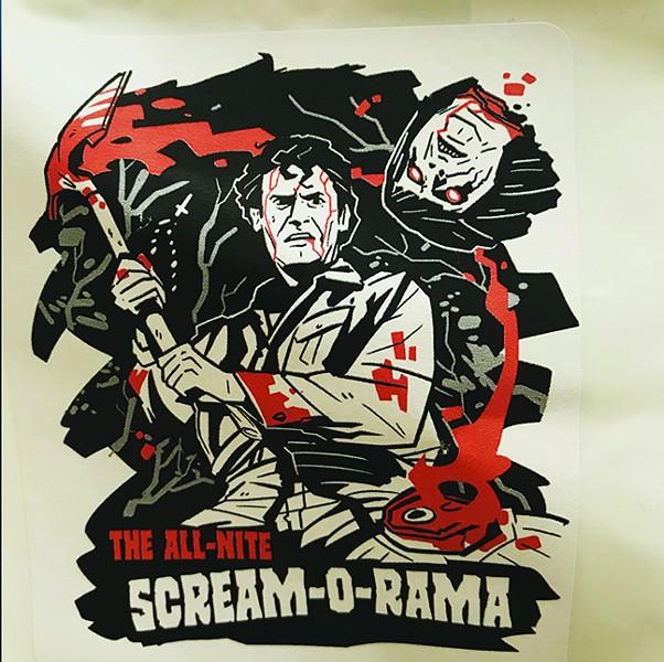 All Nite Scream-O-Rama! - COURTESY
