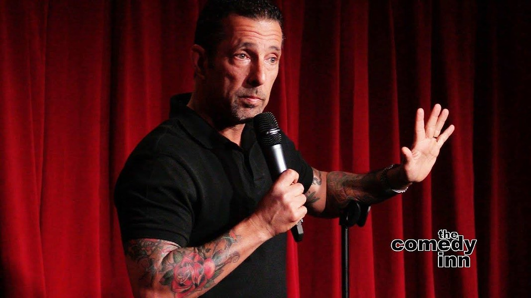 Rich Vos opens a comedy series at The O on May 8. - RICH VOS