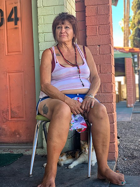 """El Camino Resident Betty Castro: """"I finally got this place and I never want to be homeless again."""" - BRIAN SMITH"""