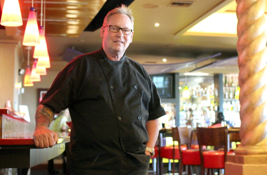 Chef Albert Hall prepares to close his restaurant after 11 years in business. - HEATHER HOCH