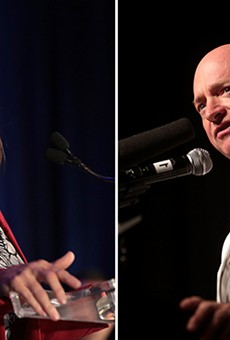 Sen. Martha McSally, R-Arizona, officially entered the race to hold on to her seat this fall. She raised $12.6 million last year for the race, but likely Democratic challenger Mark Kelly had raised $20.2 million in the same period.