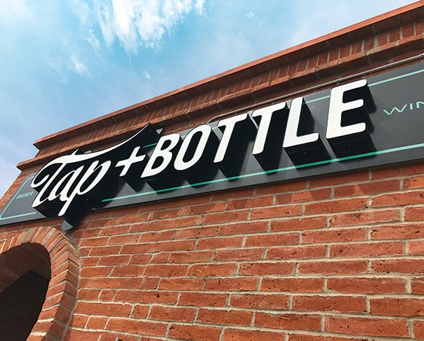 TAP AND BOTTLE