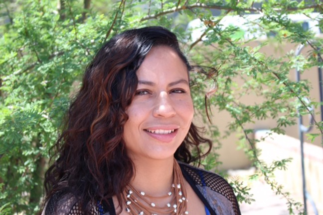 """Milta Ortiz: """"I hope it inspires and invigorates and empowers folks to understand that they have agency in their circumstances."""""""