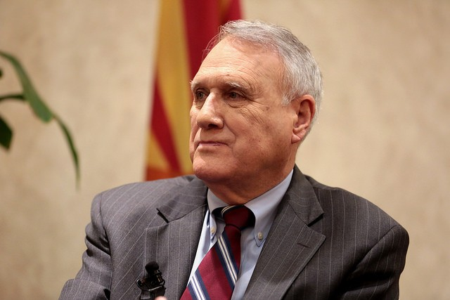 Former U.S. Senator Jon Kyl is appointed to fill John McCain's seat. - GAGE SKIDMORE