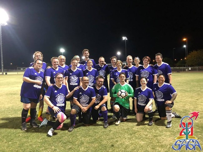 The Southern Arizona Gender Alliance not only provides resources to the local trans community, but has offered a sense of community for the past 20 years through various support services and group activities like the soccer team.