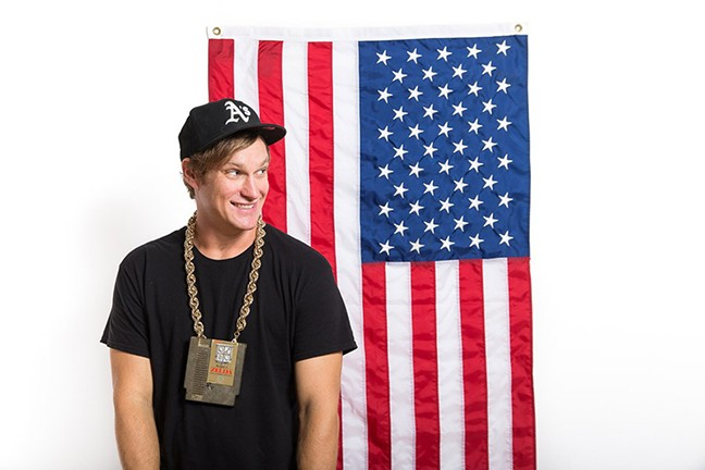 MC Lars aka Andrew Nielsen - COURTESY