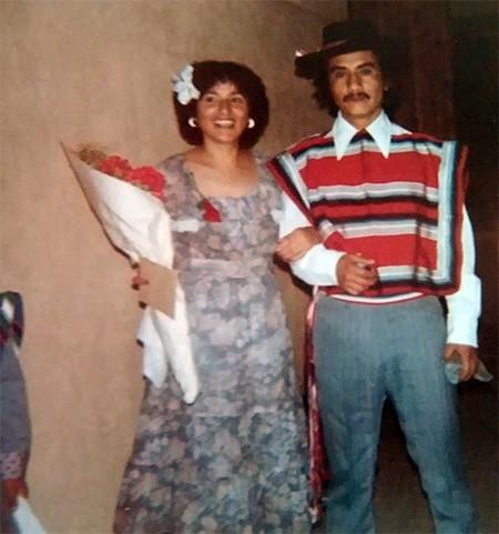 Yamila El-Khayat's mother ready to do traditional Chilean dances. - PHOTO COURTESY OF YAMILA EL-KHAYAT AND TUCSON MEET YOURSELF