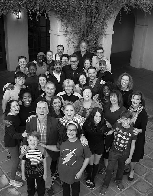 The company of Arizona Theatre Company's The Music Man.