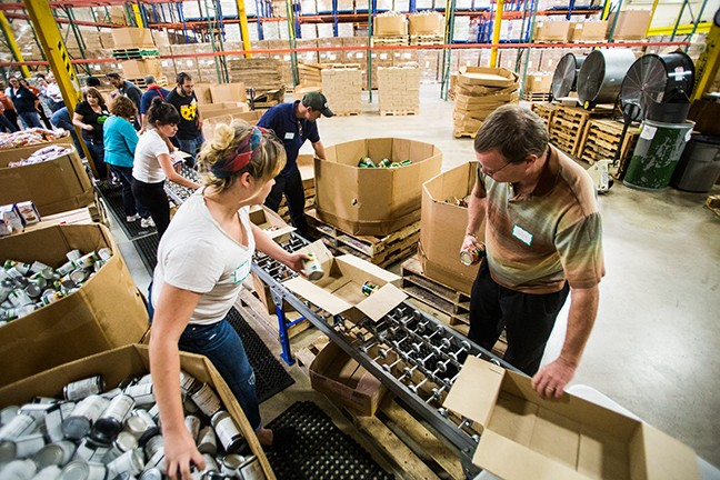 Organizations like the Community Food Bank of Southern Arizona benefit from volunteer contributions and tax credits.