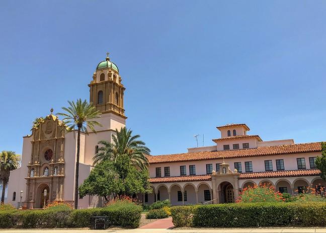 The Benedictine Monastery faces Country Club Road. - LOGAN BURTCH-BUUS