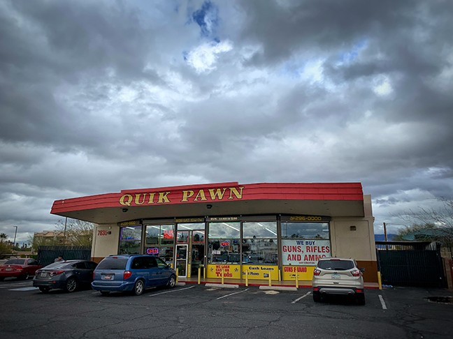 K now Quik Pawn. - BRIAN SMITH