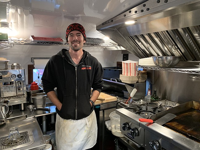 Owner and chef Karl Poechlauer - TIRION MORRIS