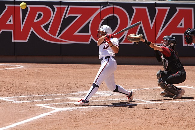 Arizona Softball Sweeps Stanford, Remains Undefeated in Pac-12 Play