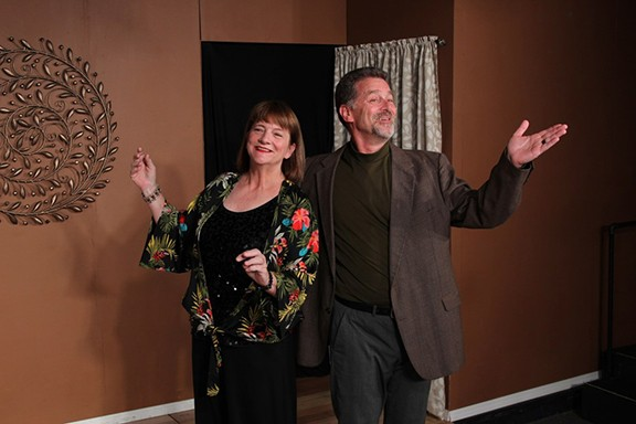 Lesley Abrams as Marnie and Steve McKee as Jerry.