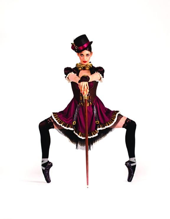 Dancer Megan Steffens inJekyll & Hyde, the season opener for Ballet Tucson.