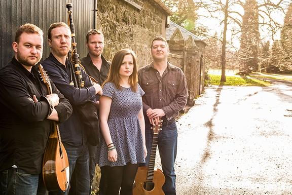 Scottish traditional band Daimh plays at Berger Saturday night.