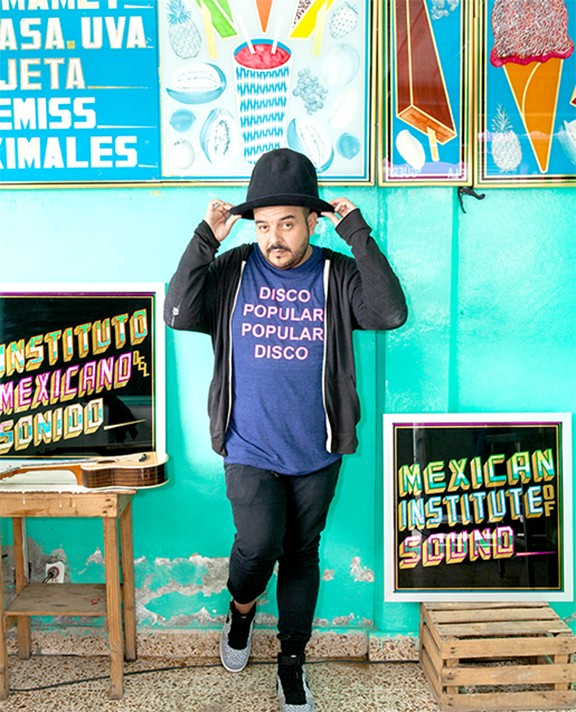 Camilo Lara, Raza Fest co-founder and sole member of the Mexican Institute of Sound.