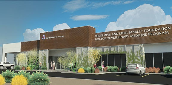 While the University of Arizona already teaches an undergraduate veterinary program, the new Oro Valley location will host the veterinary medicine program, more closely akin to a post-graduate medical school. - COURTESY PHOTO
