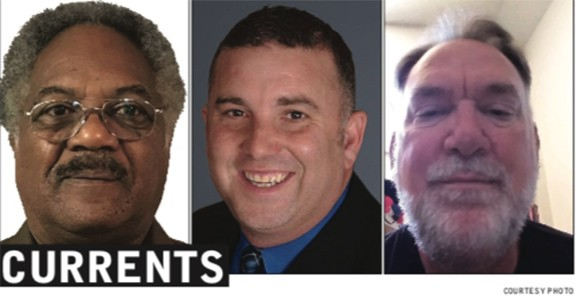 Left to right: Ewart Williams, Paul Cunningham and William Peterson are running for a spot on Tucson's city council.