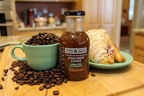 Cannabis and caffeine meet for the perfect morning beverage