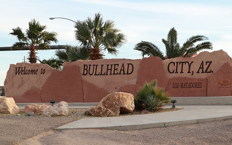 Bullhead City, across the Colorado River from Nevada, was the site of several coordinated police raids on massage parlors in September 2018. Charges against the key suspects ultimately were dismissed. (Photo by Mythili Gubbi/Howard Center)