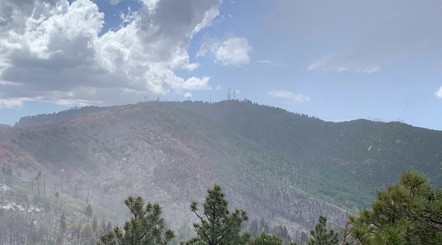 MOUNT LEMMON FROM INSPIRATION ROCK. PHOTO BY NATIONAL FOREST SERVICE.