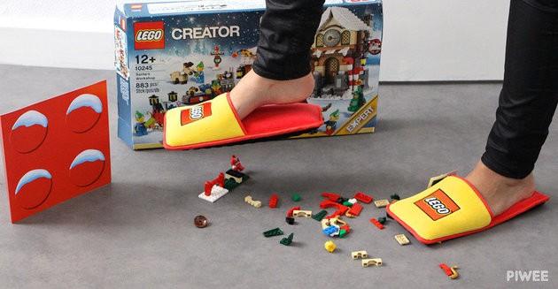 Talk about fashion statements. - BRAND STATION/LEGO/PIWEE
