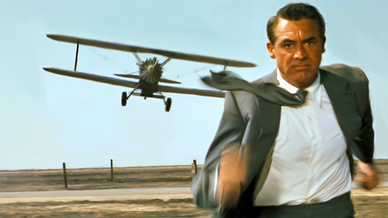 suspense in the film north by north west essay My favourite hitchcock film my favourite hitchcock: north by northwest cary grant, saul bass's titles, bernard hermann's score.