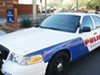 UAPD patrol cars come with everything other police cars have—lights, sirens, officers and yes, citations.