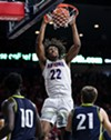 Arizona freshman forward Zeke Nnaji had a game-high 26 points and 11 rebounds in the Wildcats' 87-39 win over San Jose State University on Thursday, Nov. 14.
