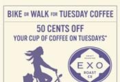 Bike or Walk for Coffee