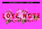 Love Note: Rosé Release Party