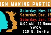 Tucson Women's March Sign-Making Party