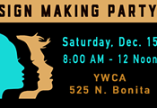 Sign-Making Party for 2019 Tucson Women's March