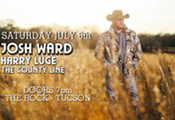 Josh Ward with Harry Luge and The County Line