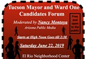 Mayor and Ward One Candidates Forum