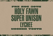 Holy Fawn and Super Unison at Wooden Tooth Records