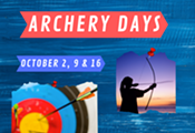 Archery Days for ages 9+