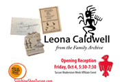 Leona Caldwell • from the Family Archives