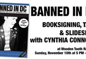 Banned In DC: Cynthia Connolly book signing, talk, & slideshow