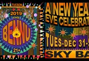 The Bennu New Year's Eve at Sky Bar!