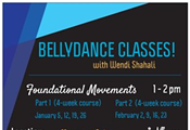 Belly Dance Foundational Movements