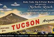 Baby Yoda Sip-N-Paint Fundraiser with an Astronaut!